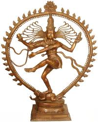 A bronze Dancing Nataraja